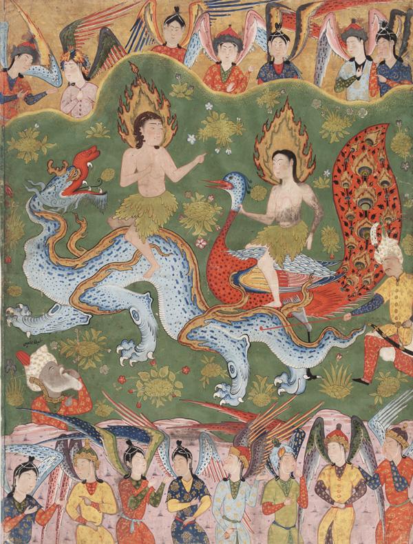 Изгнание Адама и Евы из рая. Ок. 1550