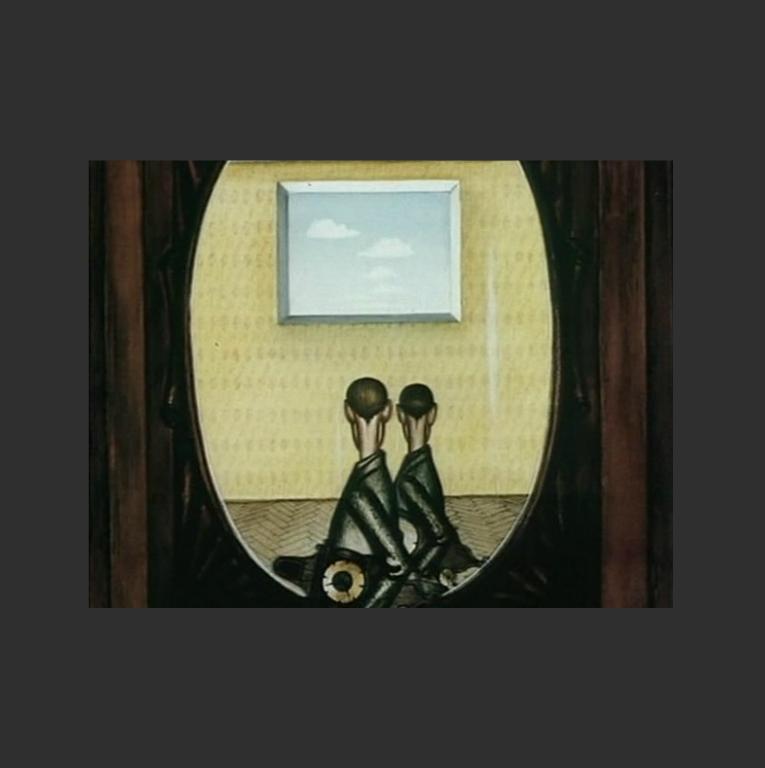 Кадр из мультипликационного фильма «Шкаф». 1971