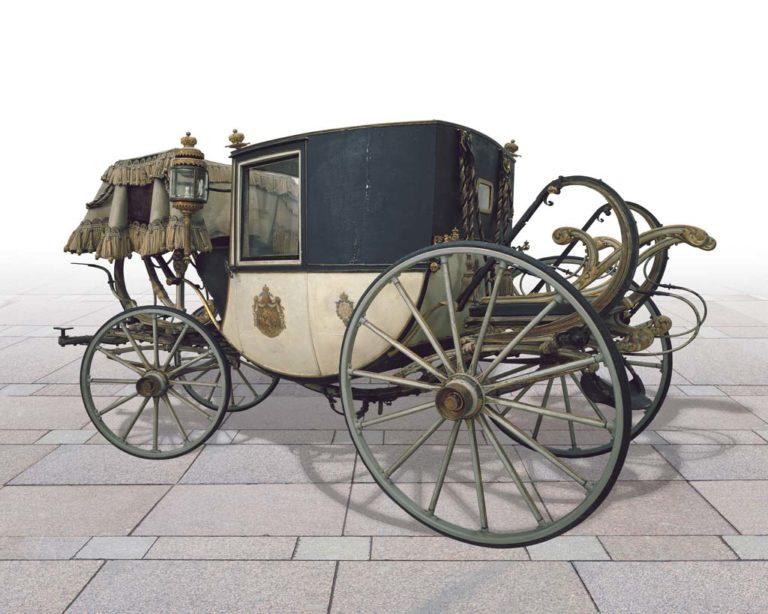 Карета двухместная. 1866