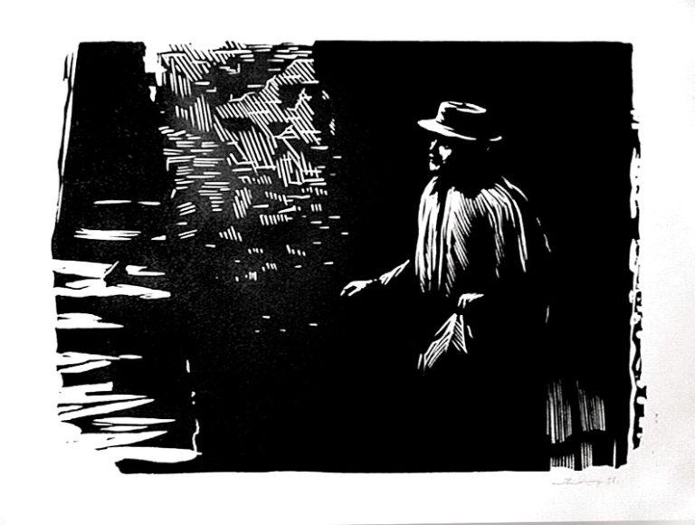 Князь Мышкин. Иллюстрация к роману Ф. М. Достоевского «Идиот». 1956