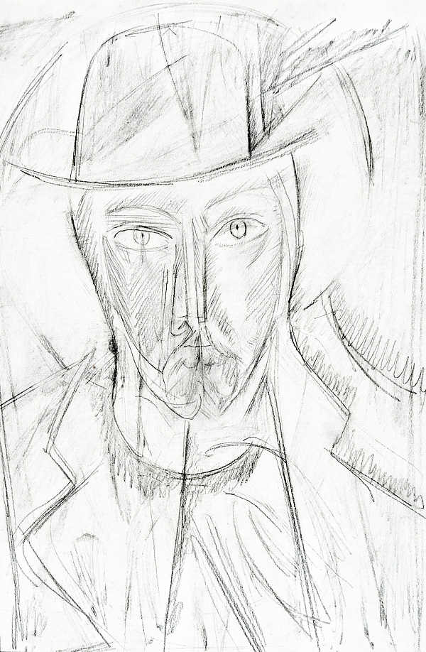 Князь Мышкин. Иллюстрация к роману Ф. М. Достоевского «Идиот»