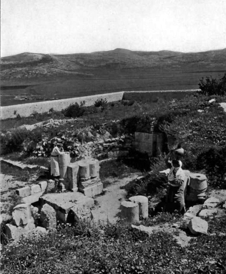 Колодец Иакова, Наблус. Фото 1912 г.