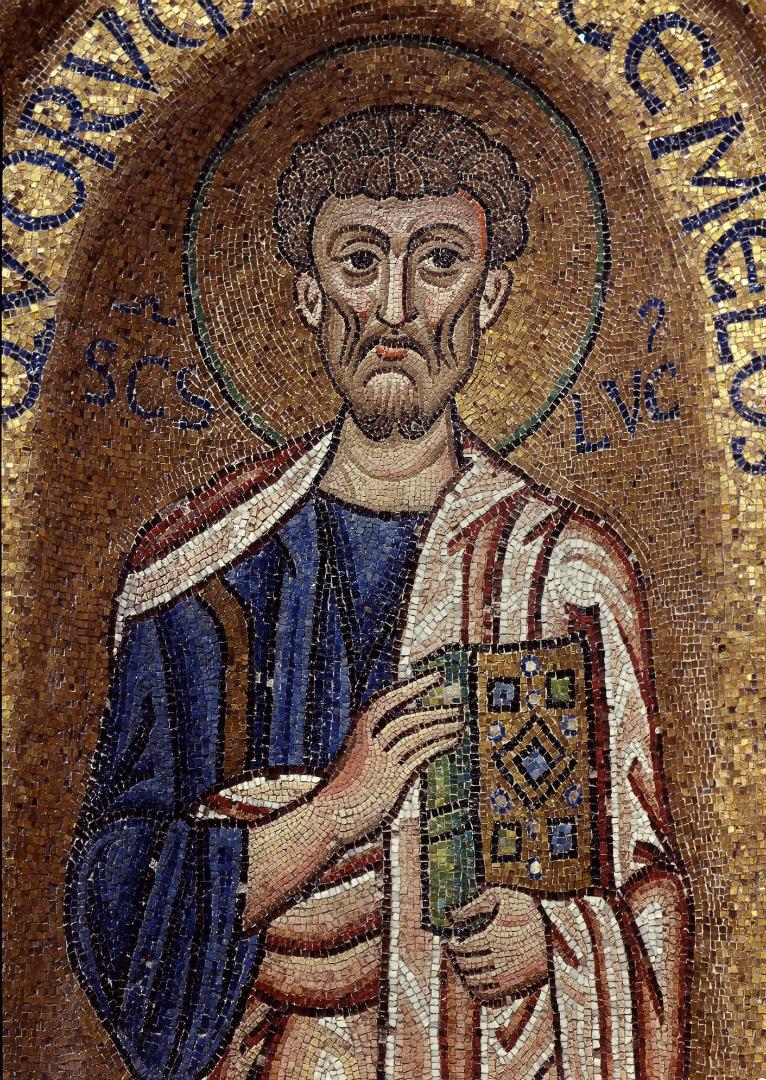 Лука Евангелист. XI в.