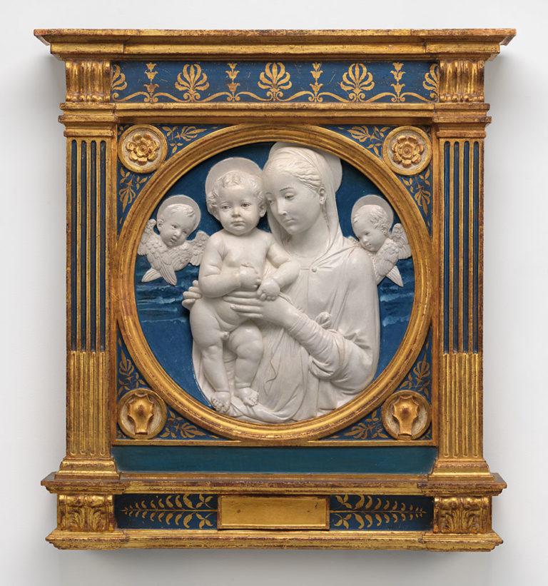 Мадонна с Младенцем и херувимами. Ок. 1485