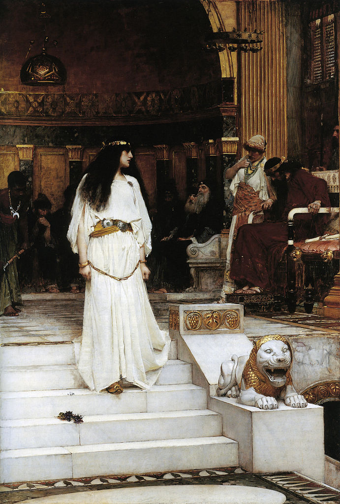 Мариамна покидает суд Ирода. 1887