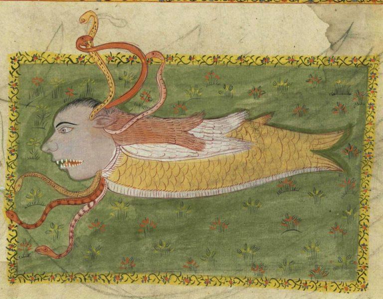 Мифическое существо. XVII – XVIII вв.