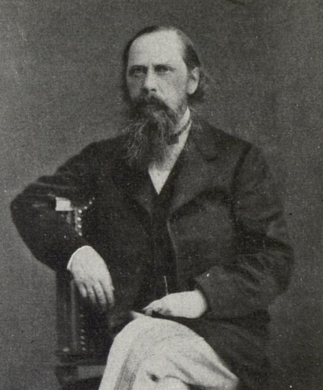Михаил Евграфович Салтыков-Щедрин (1826 –1889). Ок. 1870
