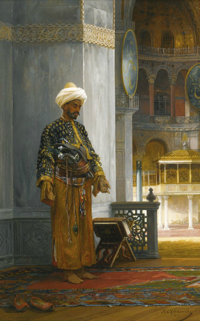 Молитва в Айя-Софии. 1879