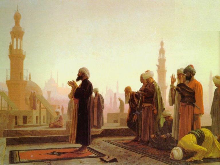 Молитва в Каире. 1865
