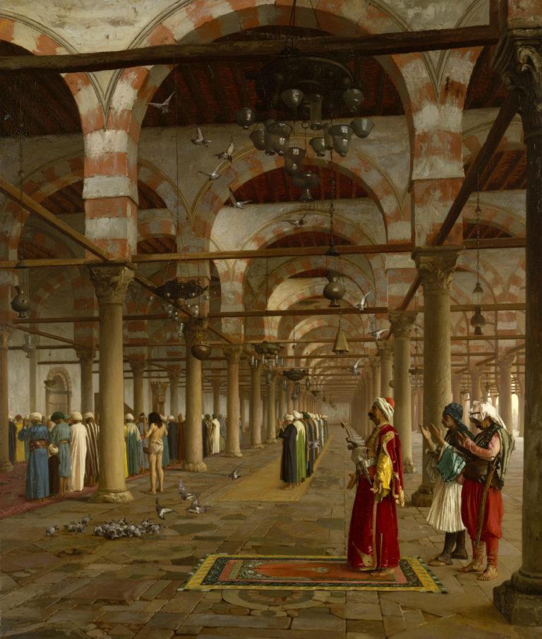 Молитва в мечети. 1871