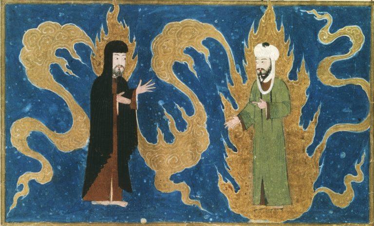 Мухаммад и Муса (Моисей). Турция, XV в.