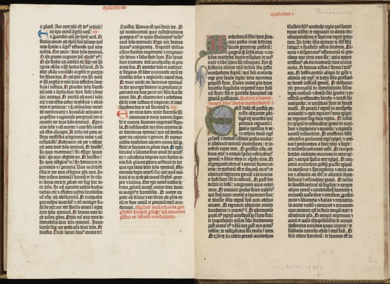 Начало Первой книги Маккавейской. Ок. 1455