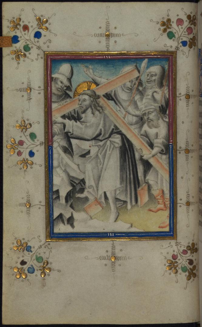 Несение креста. Нидерланды, 1440–1460