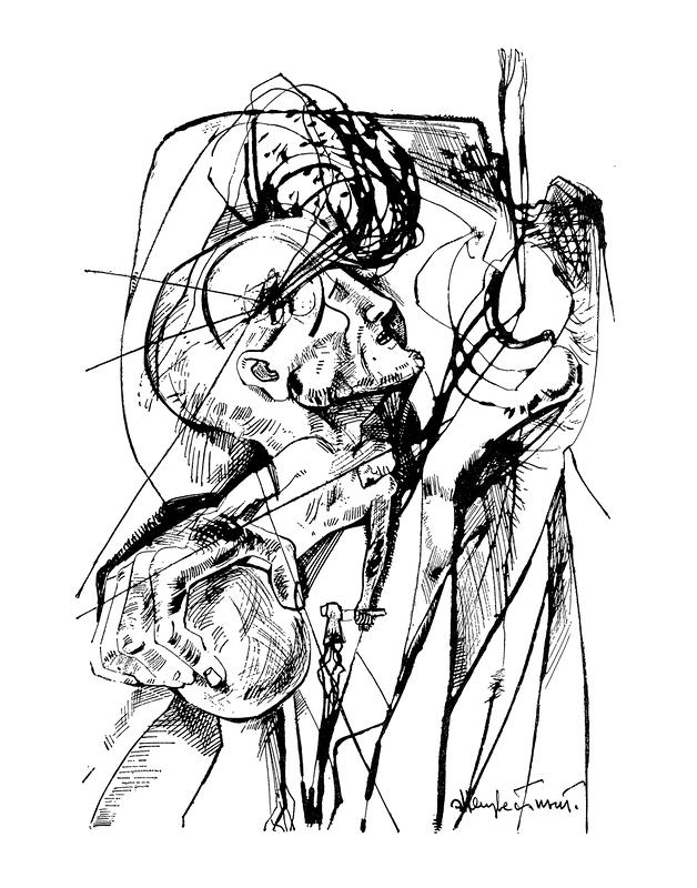 Несвершившееся величие. Иллюстрация к роману Ф. М. Достоевского «Преступление и наказание»