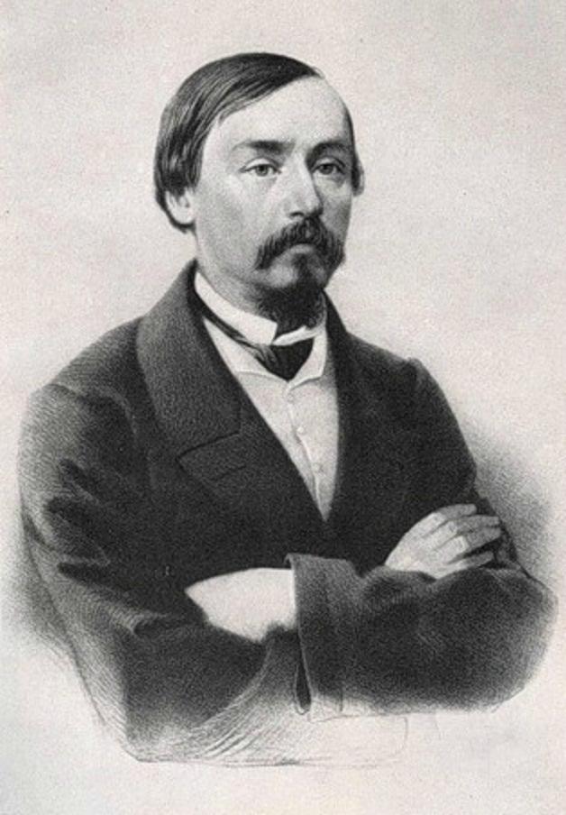 Николай Алексеевич Некрасов (1821–1878). 1850-е