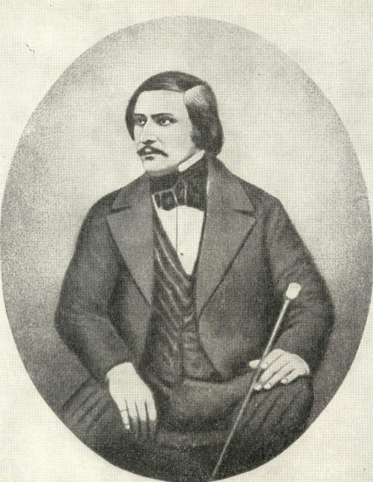 Николай Васильевич Гоголь. 1845