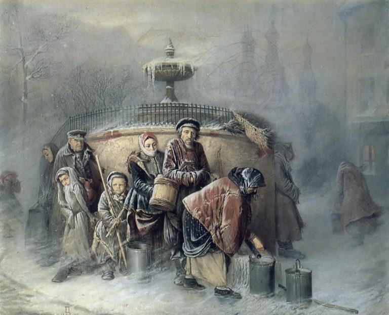 Очередная у бассейна. 1865