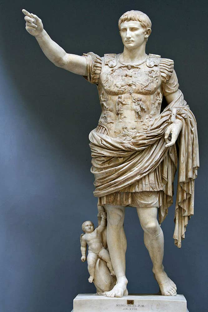 Октавиан Август. I в. н.э.