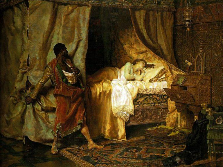 Отелло и Дездемона. 1880