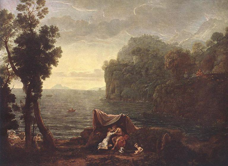 Пейзаж с Ацисои и Галатеей. 1657