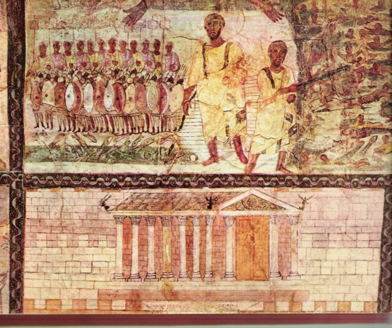 Переход через Красное море и Иерусалимский храм. III в. н. э.