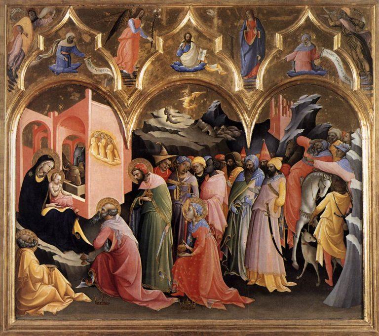 Поклонение волхвов. 1420–1422