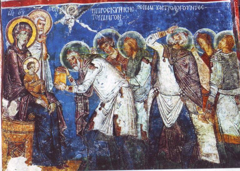Поклонение волхвов. XII в.