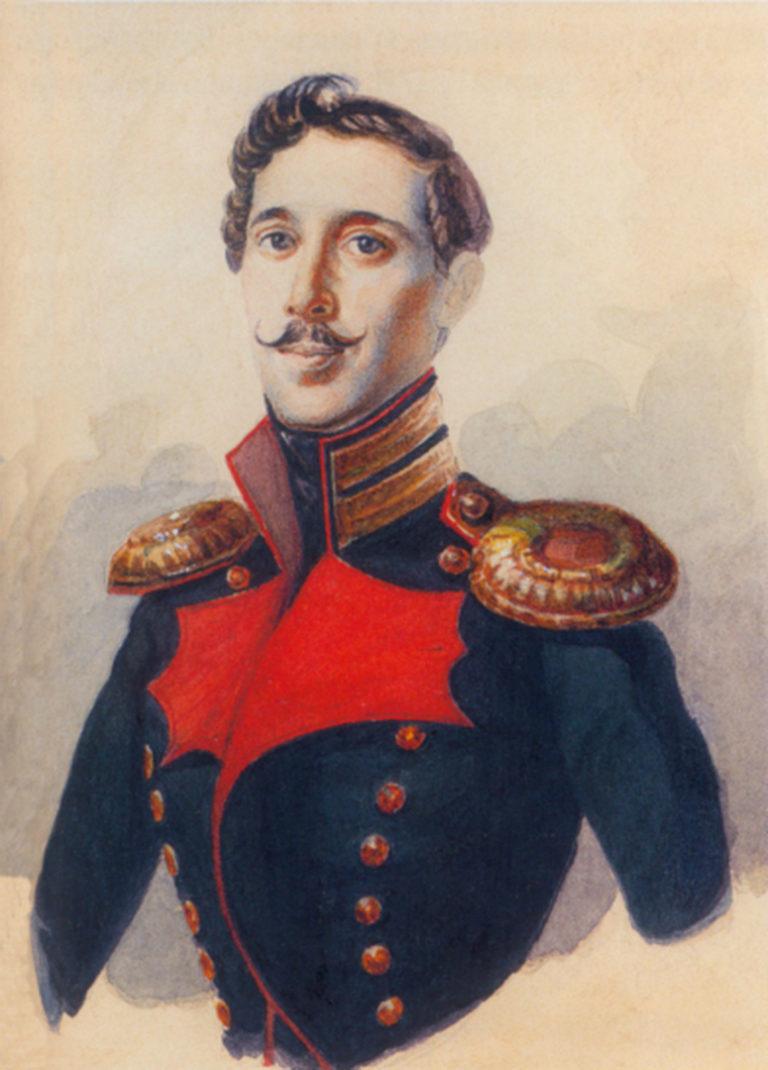 Портрет И. П. Липранди (1790–1880)
