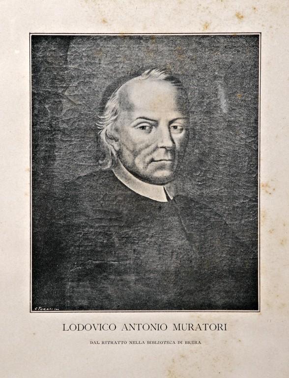 Портрет Лудовико Антонио Муратори. XIX в.