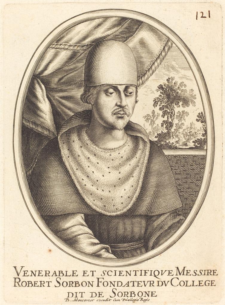 Портрет Робера де Сорбона