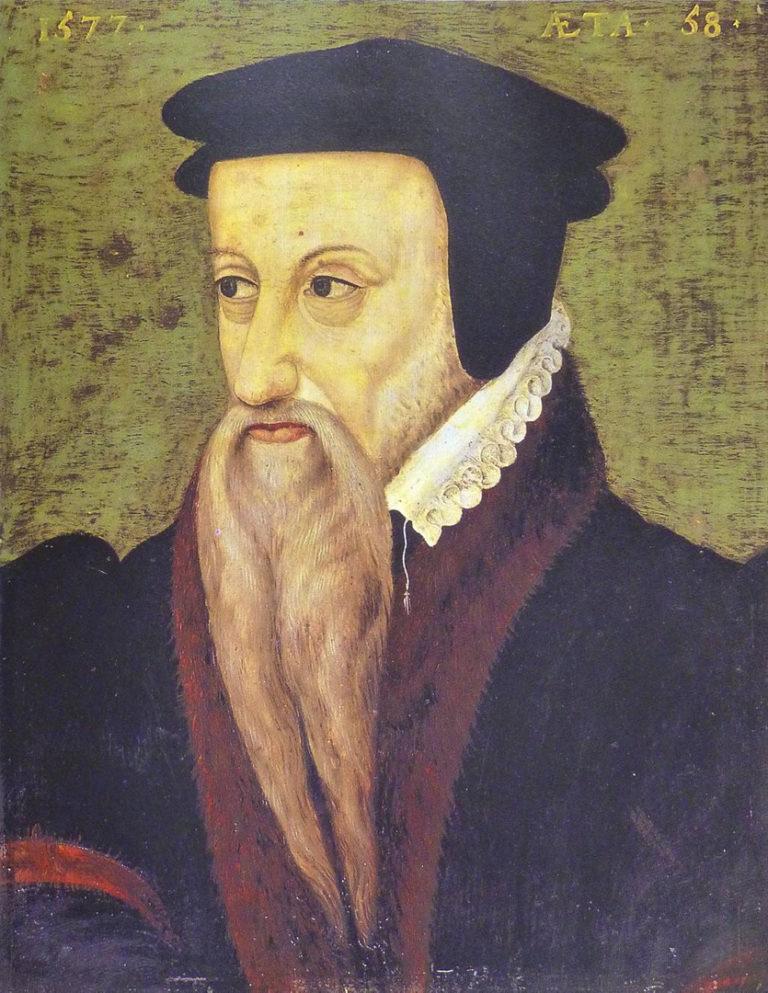 Портрет Теодора Безы. 1577