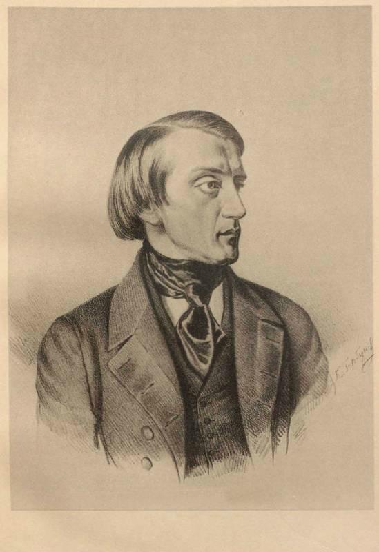 Портрет В. Г. Белинского. 1843