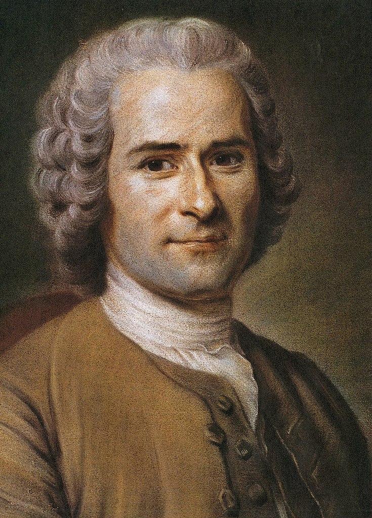Портрет Жан-Жака Руссо. II пол. XVIII в.