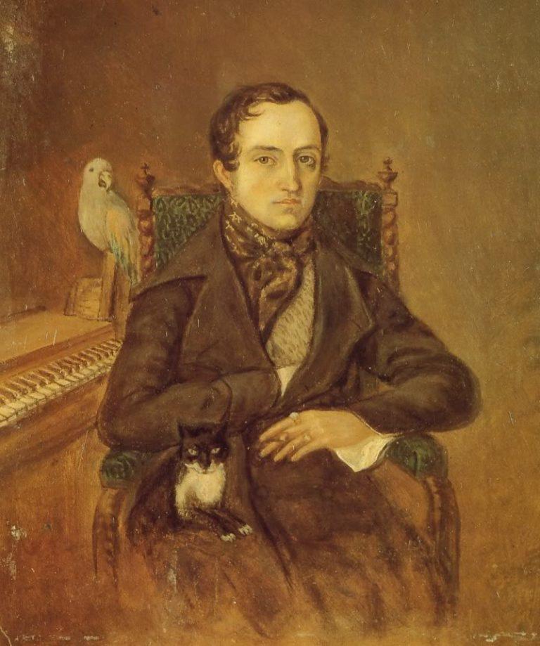 Портрет князя Владимира Одоевского. 1844