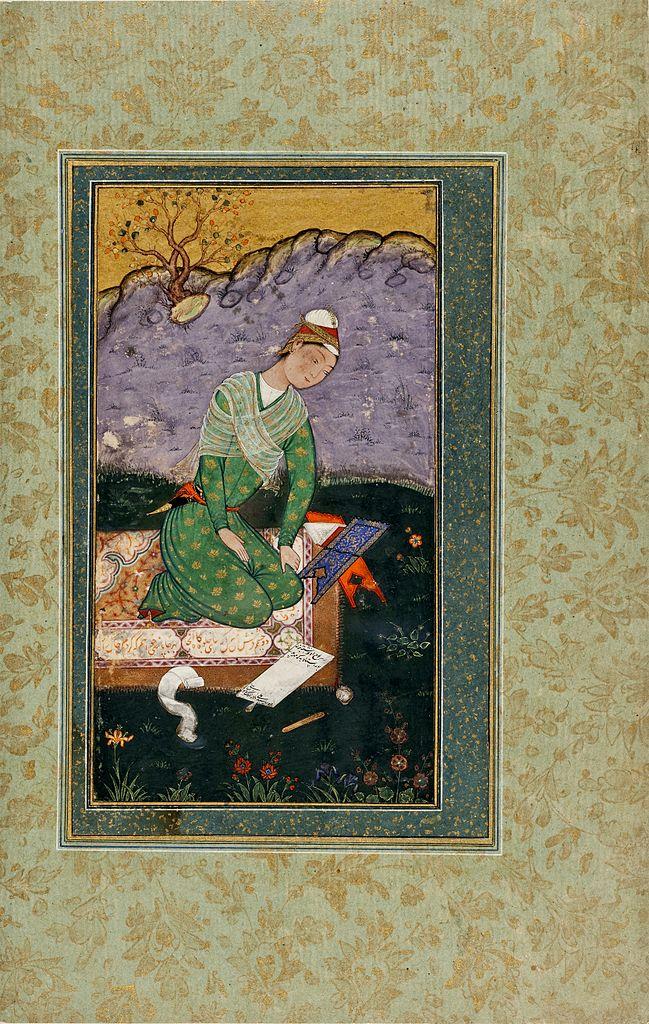 Портрет молодого писателя. Ок. 1550