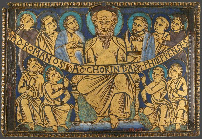 Послания апостола Павла к христианским общинам. Англия, 1160-1180