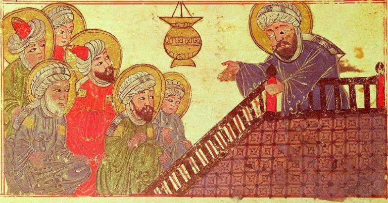 Последняя проповедь Мухаммада. XIII в.