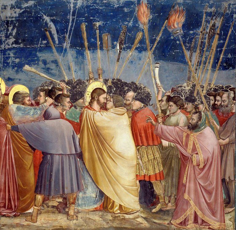 Поцелуй Иуды. 1304–1306