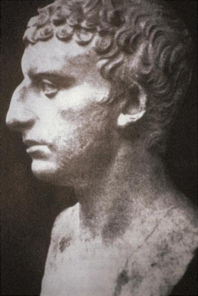 Предполагаемый скульптурный портрет Иосифа Флавия (ок. 37 – ок. 100). I в. н.э.