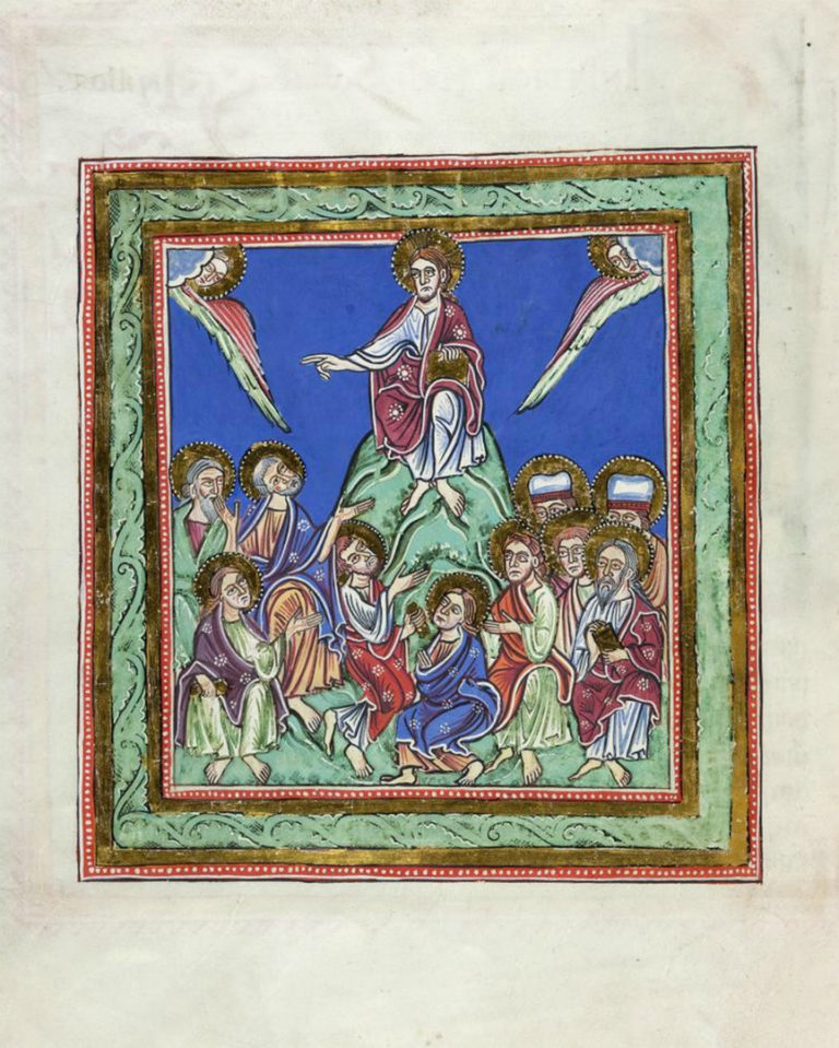 Проповедь Христа. Германия, XII в.