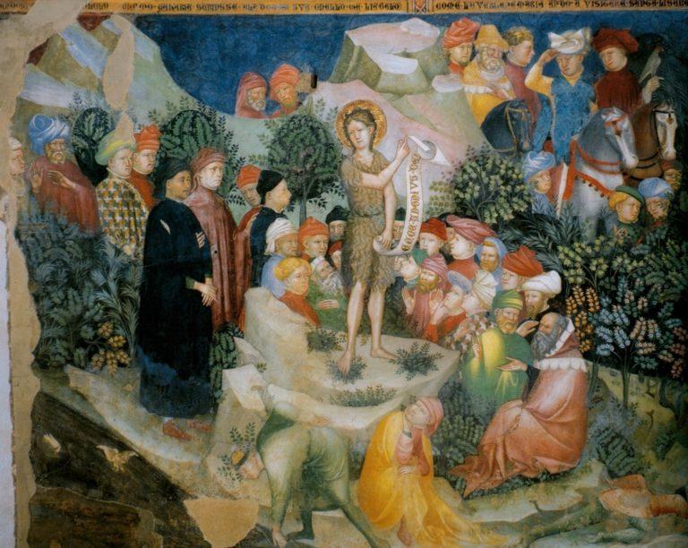 Проповедь Иоанна Крестителя. 1416