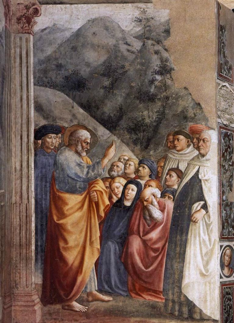 Проповедь Петра. Ок. 1427