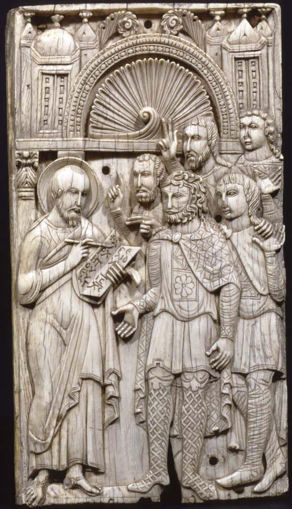 Проповедь святого Марка. Восточное Средиземноморье или Египет, VII–VIII вв.