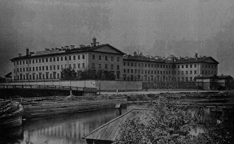 Психиатрическая больница свт. Николая Чудотворца в Санкт-Петербурге. 1878