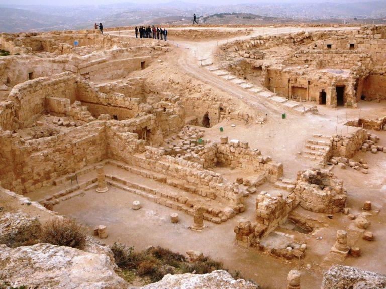Раскопки дворца Ирода, Иродион