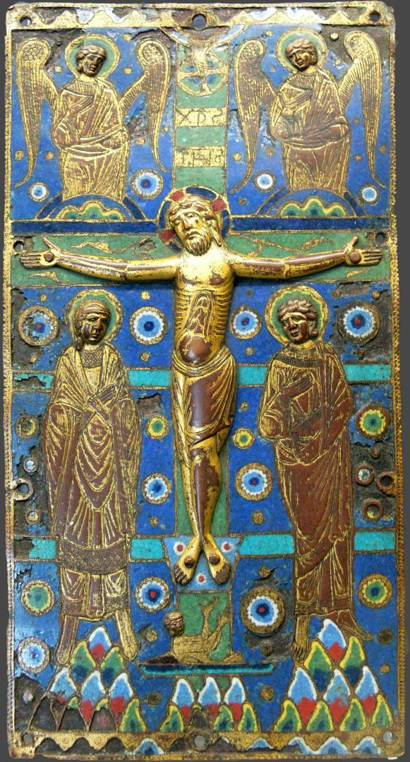 Распятие Христово. Франция, XI в.