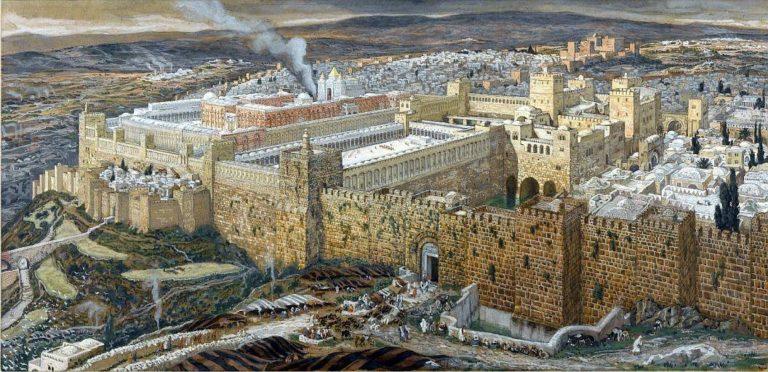 Реконструкция Иерусалима и Храма Ирода. 1886–1894