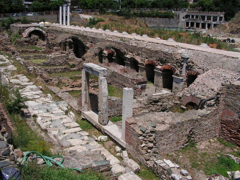 Руины агоры, Фессалоники