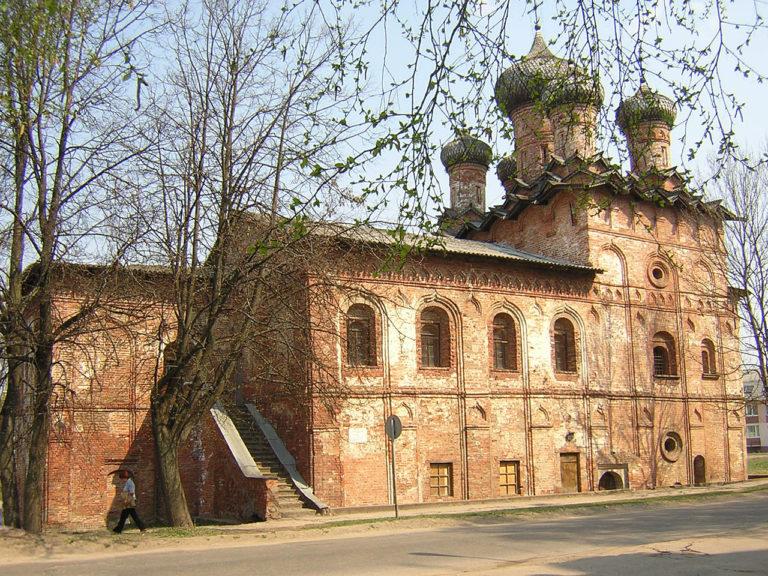 Собор Свято-Духова монастыря. Вид с юга. Ок. 1557