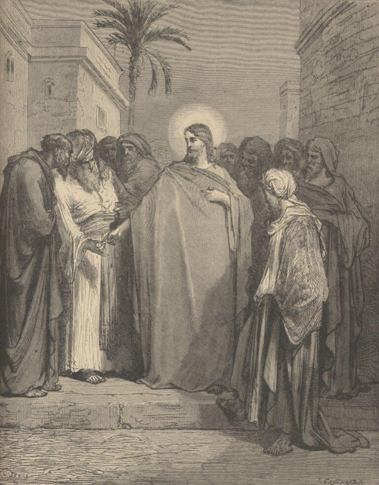 Спор Христа с фарисеями. 1866